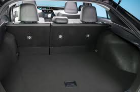 trunk space toyota corolla 2016 toyota prius three cargo space 03 motor trend