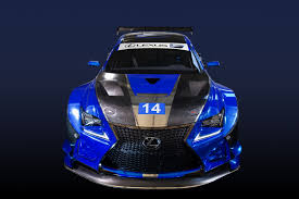 lexus and toyota are same the new rc f gt3 aims to strengthen the lexus u0027 f brand