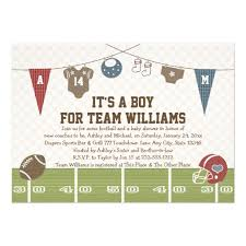 football baby shower personalized football baby shower invitations