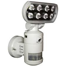 versonel nightwatcher pro motorized led security motion tracking