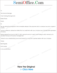 reminder letter for payment