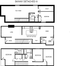 narrow house plan edmonton home suites builder on narrow lots