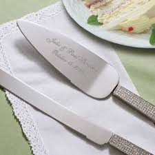 wedding cake serving set engraved wedding cake serving set glitter rhinestone cake serving