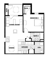 one bedroom floor plan griffin gate apartment homes for rent hopkinsville kentucky fort