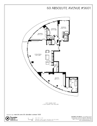 Absolute Towers Floor Plans by 60 Absolute Avenue 5601