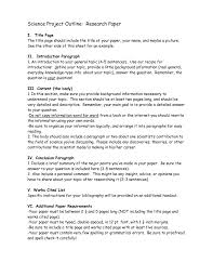 science fair report template 27 images of exles scientific paper template infovia net