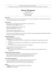 sample high resume college application full image for high