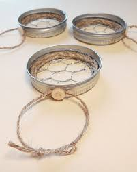 jar lid chicken wire ornaments hometalk