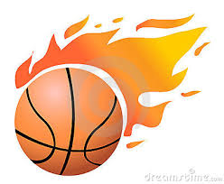 basketball clipart images flaming basketball clipart