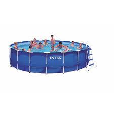 Intex 14 X 42 Intex Above Ground Pools Pools U0026 Pool Supplies The Home Depot