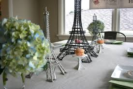 Eiffel Tower Centerpiece Ideas Stephmodo Paris Birthday Party