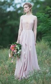 of honor dresses 2018 sheer lace chiffon bridesmaid dresses half sleeves
