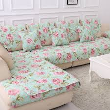 Floral Print Sofas Enchanting Cotton Sofa Covers Online India Also Decorating Home