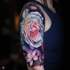 23 best realistic rose tattoos with a quote images on pinterest