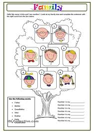 family members dili pinterest english worksheets and my for