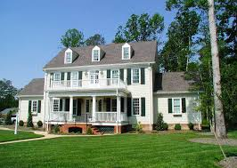 Classic Colonial Floor Plans by Colonial Plans Architectural Designs