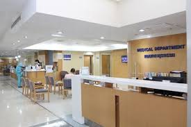 Hospital Reception Desk Piyavate International Hospital In Bangkok Thailand
