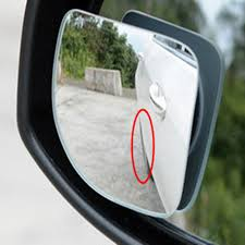 No Blind Spot Rear View Mirror Reviews 2pcs Car 360 Degree Adjustable Motorcycle Blind Spot Rear View