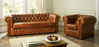 Sofa Collection Vintage Leather Sofas By Forest Sofa - Chesterfield sofa and chairs