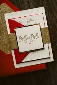 Red Wedding Invitations Red And Gold Wedding Invitations Plumegiant Com
