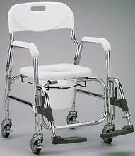 Shower Chair On Wheels Deluxe Shower Chair With Wheels And Footrests Medhelp Express