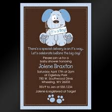 puppy dog baby shower invitation dog invite dog birthday