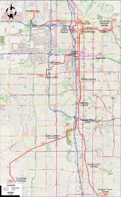 Salt Lake City Map Salt Lake City Transit And Airport Developments Page 6 Red Line