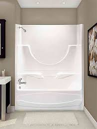 decorate around a fiberglass tub shower combo enclosure google