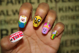 easy nail art characters nail art my style stories