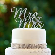 mrs and mrs cake topper wedding cake toppers mr and mrs wedding corners