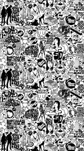 comics stickers black and white iphone 6 wallpaper hd free comics stickers black and white iphone 6 wallpaper