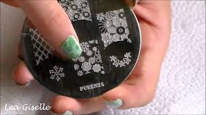 nail art stamping ideas pueen25 youtube