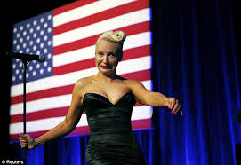 Sia Singing Chandelier Live Sia Furler Steals The Show In Black Dress While Singing To Barack