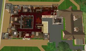 Sims 2 House Floor Plans by Mod The Sims Downton Abbey Highclere Castle No Cc