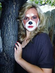 panda halloween makeup my creative life