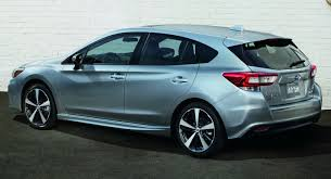 2016 subaru impreza hatchback blue moment of truth 2017 subaru impreza production vs concept