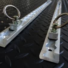 isuzu dmax 2007 isuzu d max 2007 2012 aluminium anchor track points length 610mm