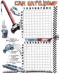 a printable car battleship game drivetribe