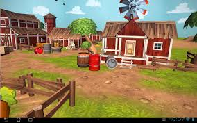 cartoon farm 3d live wallpaper android apps on google play