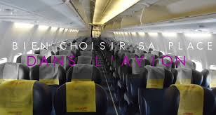 reserver siege air conseils pour bien choisir sa place dans un avion mytourdumonde