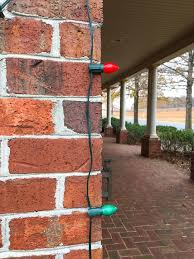 hanging christmas lights on brick walls 34 best diy projects images on pinterest glue gun glue guns and
