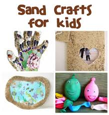 sand crafts and activities family crafts