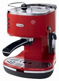 delonghi magnifica red light delonghi icona pump driven espresso maker red eco310r best buy