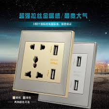 new arrival universal 2 port usb wall socket ac 110 250v us uk eu