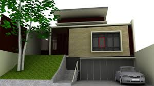 modern simple design of the front house wall design ideas that has modern elegant design of the front house wall design ideas that used cream wall color and