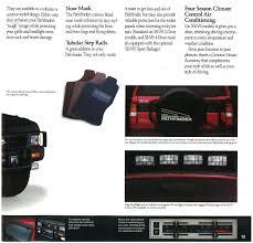 nissan pathfinder spare tire 1990 nissan pathfinder dealer brochure nicoclub