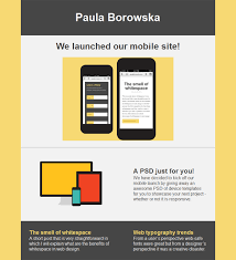 how to create an email template with html web design and