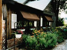 Front Porch Awnings Interior Astounding Front Porch Decoration Using Blue Ventura