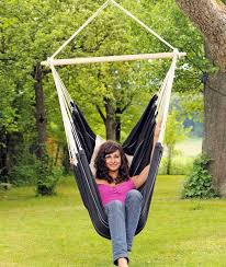 Brazilian Hammock Chair Riipputuoli Musta Brasil Black Amazonas Hammocks Hanging Chairs