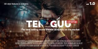 free download tenguu cinema movie theater template u2013 codazone net